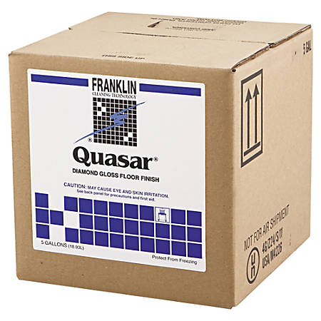 Franklin Cleaning Technology® Quasar® High Solids Floor Finish, 640 Oz