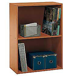 Bush Fusion 2 Shelf Bookcase 28 3 8 H X 21 1