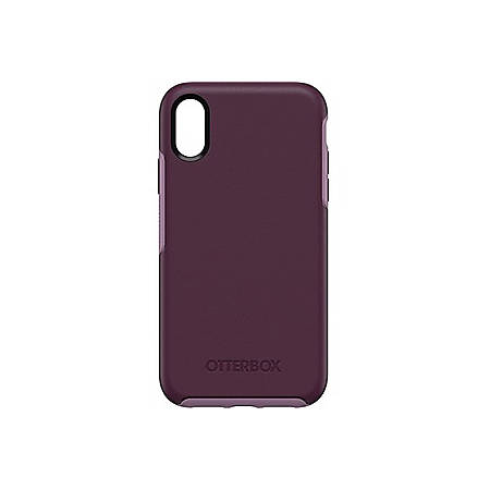 OtterBox Symmetry Series Case for iPhone XR - For Apple iPhone XR Smartphone - Tonic Violet - Drop Resistant, Shock Resistant - Synthetic Rubber, Polycarbonate