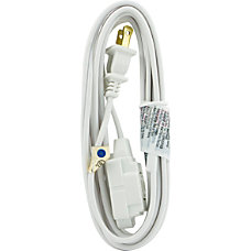 GE 3 Outlet Polarized Extension Cord