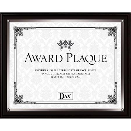 """DAX Wooden Insert Plaques - 8.50"""" x 11""""1 Each"""