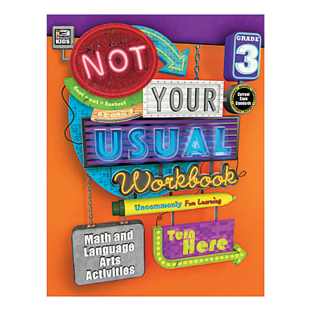 Thinking Kids® Not Your Usual Workbook, Grade 3