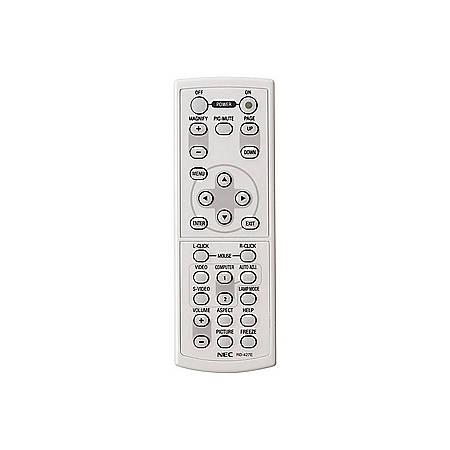 NEC Replacement Remote for VT660K, VT660, VT560, VT465 - 23 ft