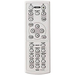 NEC Replacement Remote for VT660K VT660