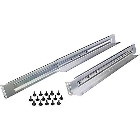 CyberPower Universal Rack Mount Rail Kit - Adjustable Length Rail Kit for 1U & 2U