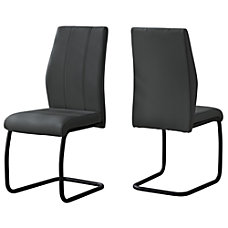Monarch Specialties Sebastian Dining Chairs Faux