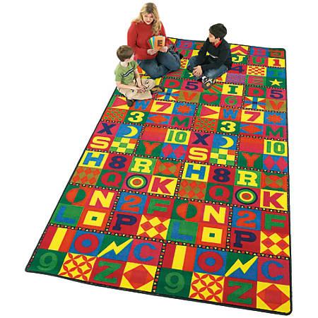 Flagship Carpets Printed Rug, 12'H x 15'W, Floors That Teach