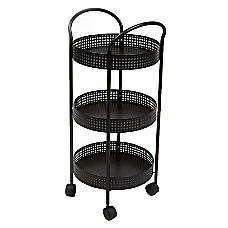 Mind Reader 3 Shelf Steel Utility