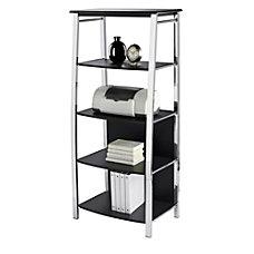 Realspace 4 Shelf Mezza Bookcase 59