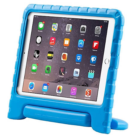 i-Blason Armorbox Kido Carrying Case Apple iPad Air 2 Tablet - Blue - Impact Resistant, Drop Proof, Shock Proof - Polycarbonate - Handle