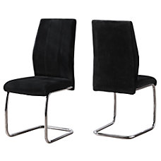 Monarch Specialties Sebastian Dining Chairs Black