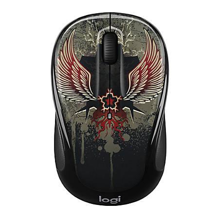 Logitech® M325c Wireless Mouse, Black Taboo, 910-005337