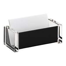 Realspace Acrylic Business Card Holder 3