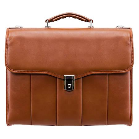 Mckleinusa 154 Leather Executive Laptop Briefcase