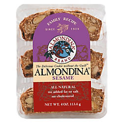 Almondina All Natural Cookies Sesame 4