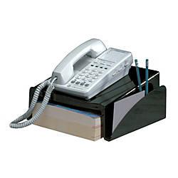 Office Depot Brand Phone Director Black