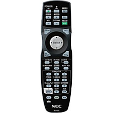 NEC Display Device Remote Control For