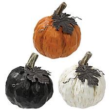 Amscan Resin Fall Mini Pumpkins 3