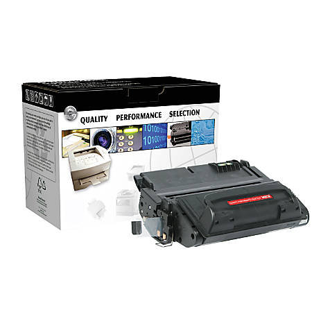 CTG OD42AM (HP Q5942A) Remanufactured Black MICR Toner Cartridge