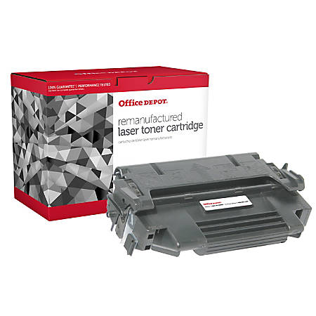 Clover Technologies Group OD98TM Remanufactured High-Yield MICR Toner Cartridge Replacement For HP 92298A Black