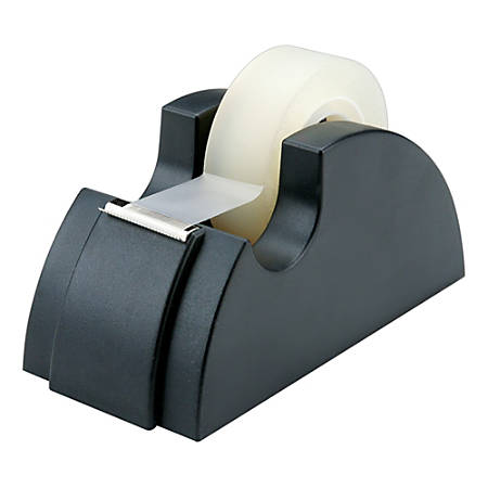 "75% Recycled Tape Dispenser, 1"" Core, Black (AbilityOne 7520-00-240-2411)"