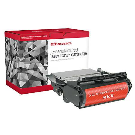 Office Depot® Brand ODT620M (Lexmark 12A6860) Remanufactured High-Yield Black MICR Toner Cartridge