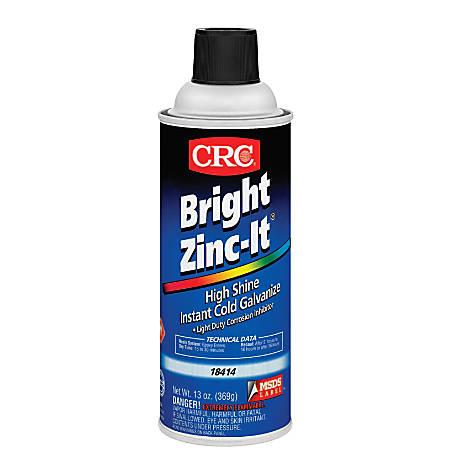 Bright Zinc-It Instant Cold Galvanize, 16 oz Aerosol Can