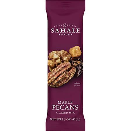 Sahale Snacks Glazed Pecans Snack Mix - Gluten-free, Individually Wrapped, Non-GMO, No Artificial Color, No Artificial Flavor, Preservative-free - Assorted - 1.50 oz - 18 / Carton