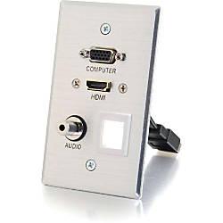 C2G HDMI VGA 35mm Audio Pass