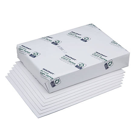 "SKILCRAFT® Bond And Writing Paper, Type IV, 20 Lb, 8 1/2"" x 11"", White, Case Of 10 Reams (AbilityOne 7530-00-290-0617)"