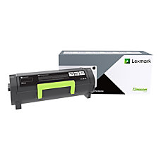 Lexmark 501G Black original toner cartridge