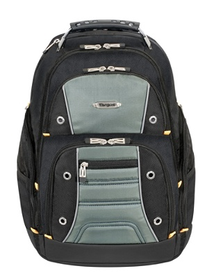 2a5921768 Targus® Drifter II Laptop Backpack, Black. Use + and - keys to zoom in and  out, arrow keys move the zoomed portion of the image