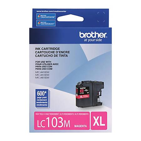 Brother® LC103M Magenta Ink Cartridge