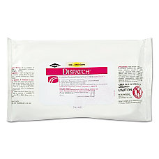 Clorox Healthcare Dispatch Disinfectant Towels With