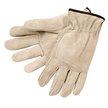 Memphis Glove Premium-Grade Leather Unlined Driving Gloves, X-Large, Pack of 12 Pairs