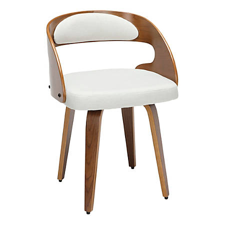 OFM 161 Collection Mid-Century Modern Dining Chair, Beige
