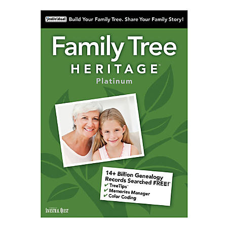 Family Tree Heritage™ Platinum 15, Traditional Disc