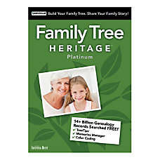 Family Tree Heritage Platinum 15 Traditional