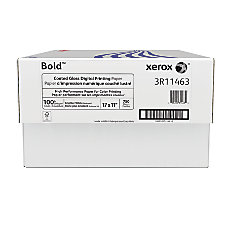 Xerox Bold Digital Coated Gloss Printing