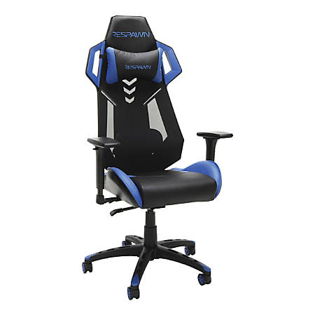 Respawn 200 Racing-Style Gaming Chair, Blue/Black