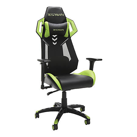 Respawn 200 Racing-Style Gaming Chair, Green/Black