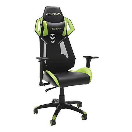 200 Style Respawn Item8542480 Racing Gaming ChairGreenblack dWCrBoex