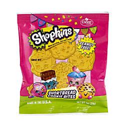 Clever Cookie Shopkins Shortbread Cookie Bites