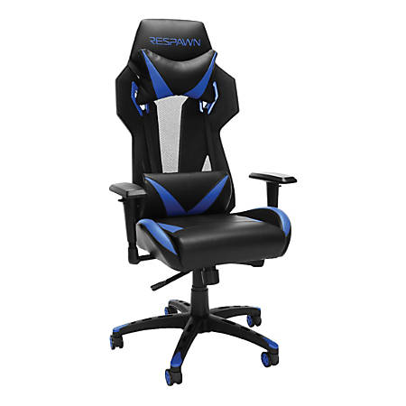 Respawn 205 Racing-Style Gaming Chair, Blue/Black