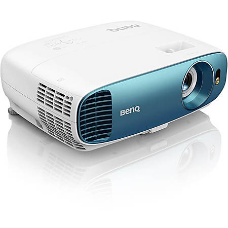 BenQ TK800M 3D Ready DLP Projector - 16:9 - 3840 x 2160 - Ceiling, Front - 2160p - 4000 Hour Normal Mode - 10000 Hour Economy Mode - 4K UHD - 10,000:1 - 3000 lm - HDMI - USB
