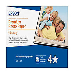 Epson Premium Glossy Photo Paper 4