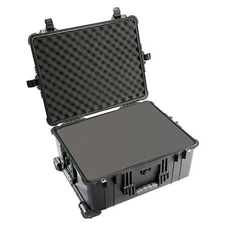 "Pelican™ 1610 Rolling Case, 24.83"" x 19.69"" x 11.88"""