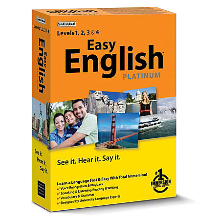 Individual Software Easy English™ Platinum, Traditional Disc