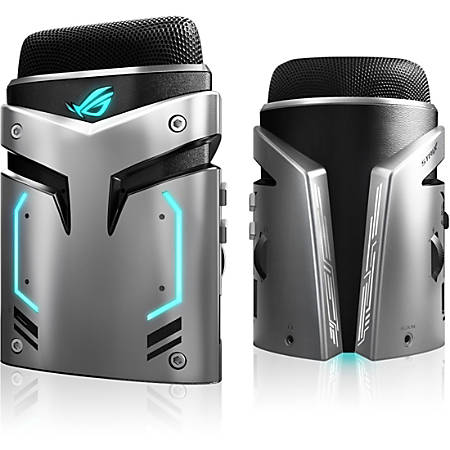 Asus ROG Strix Magnus Microphone - Stereo - 20 Hz to 20 kHz - Wired - 4.92 ft -35 dB - Condenser - Cardioid, Uni-directional, Omni-directional, Bi-directional - Stand Mountable - USB