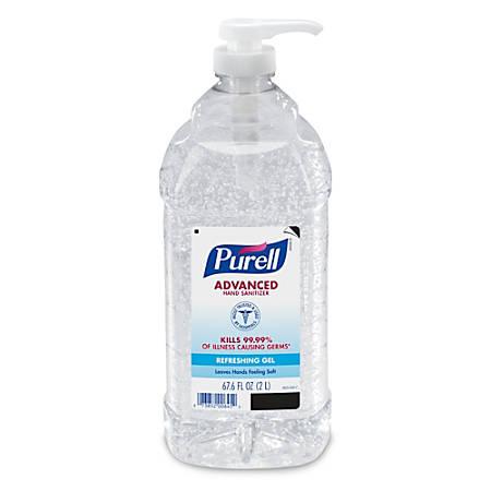 Purell® Instant Hand Sanitizer Economy-Size Pump, 2 Liters